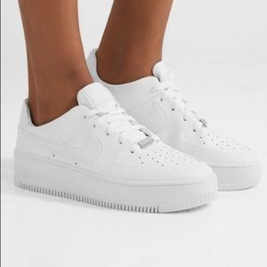 Nike Air Force 1 Sage platform
